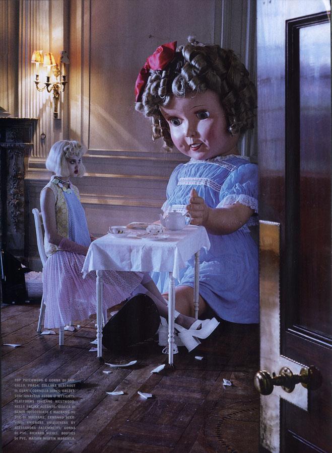 Lie a doll -1